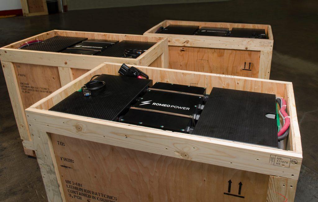 Battery Packs Romeo Power