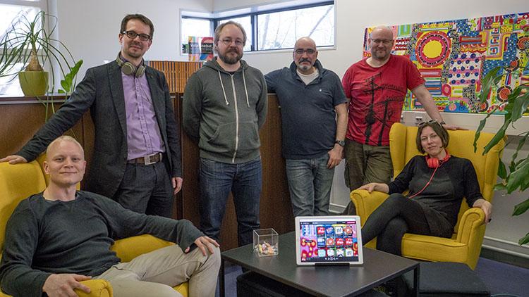 Kieku team finish startup