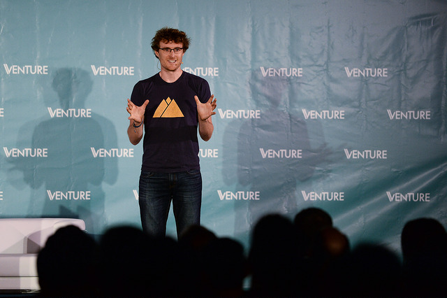 6 November 2017; Paddy Cosgrave, CEO, Web Summit, at Venture Summit Content during Web Summit 2017 at Convento De Beato in Lisbon. Photo by Diarmuid Greene/Web Summit via Sportsfile