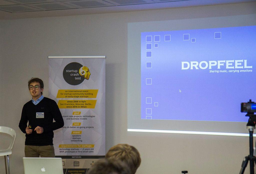 Alessandro Li Vigni presented Dropfeel