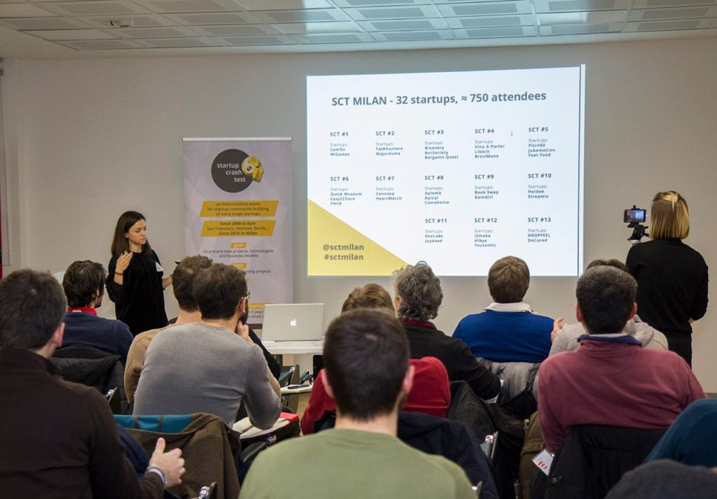 Dzina Skuratovich - Co-manager of Startup Crash Test Milan
