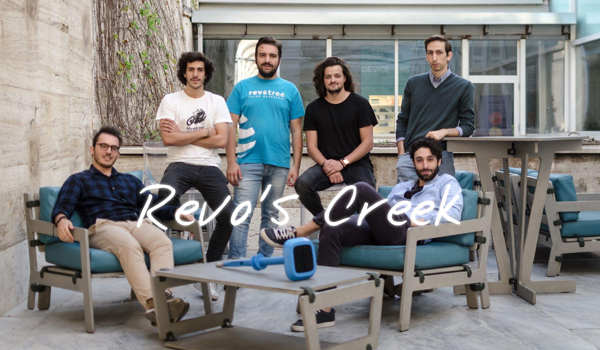 Revotree team members => Giovanni, Andrea, Cosimo, Davide, Marco, Giorgio