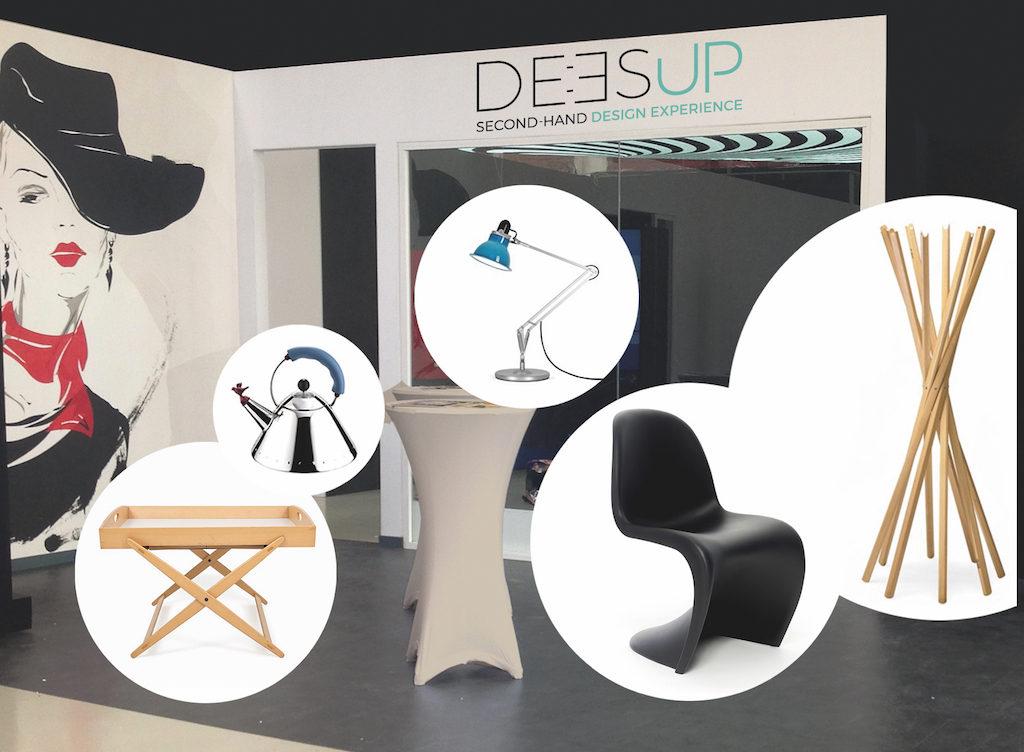 Startup Deesup POPupSHOP Fuorisalone 2018