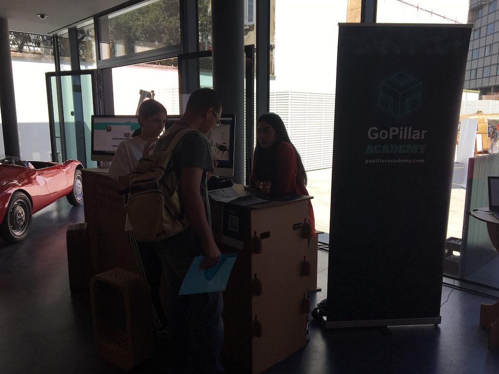 Startup GoPillar in Milan LUISS Hub