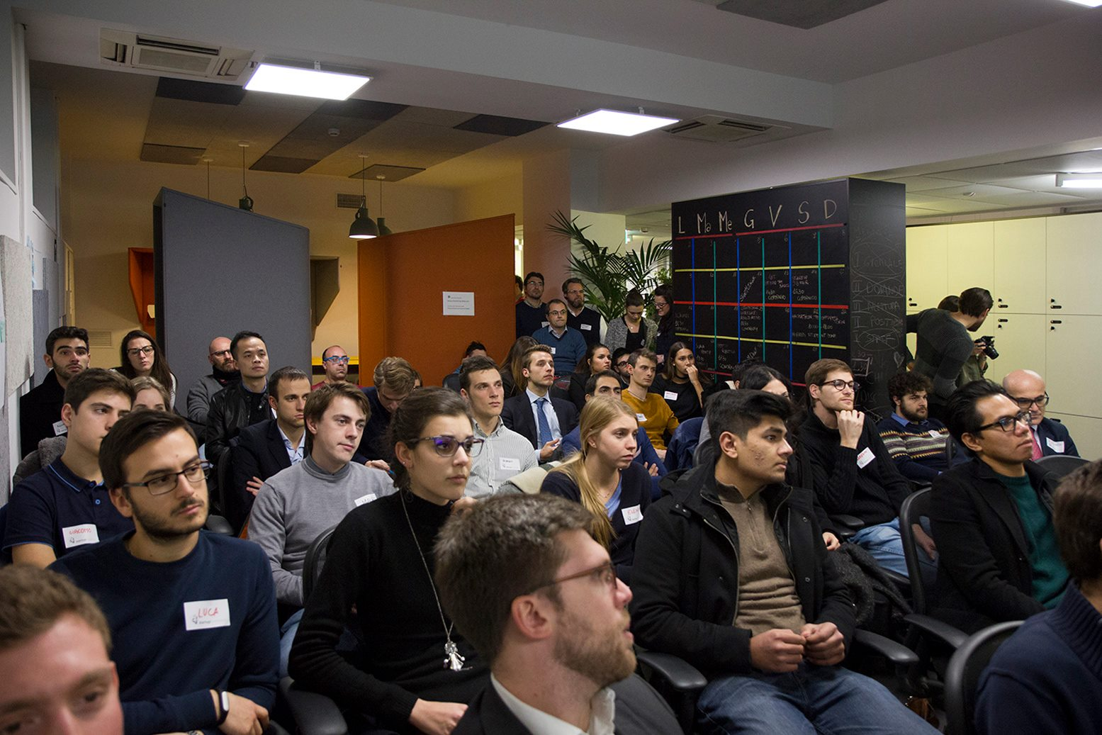 Audience at Startup Crash Test Milan #4