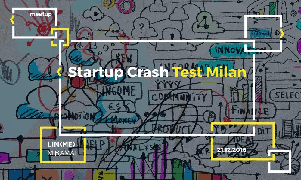 Startup Crash Test Milan #5