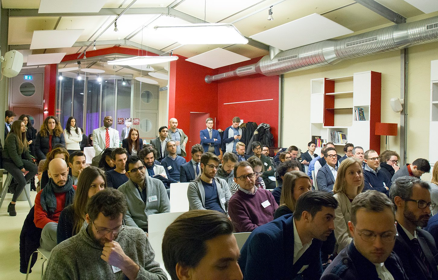 Startup Crash Test Milan #6 audience