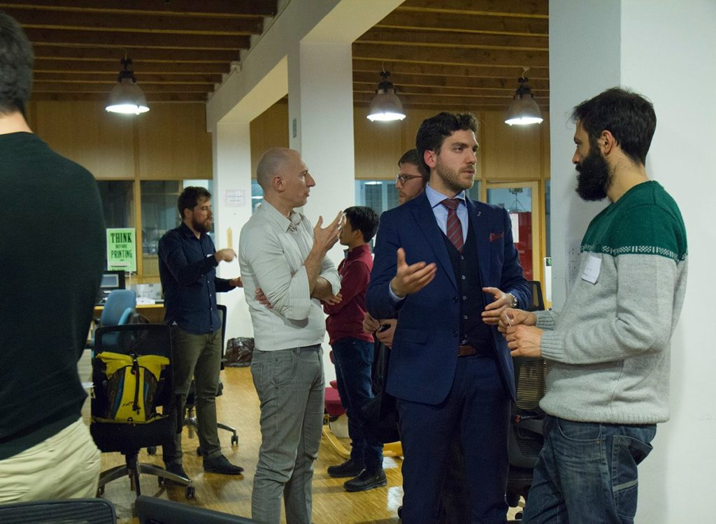 Startup Crash Test Milan #7 networking