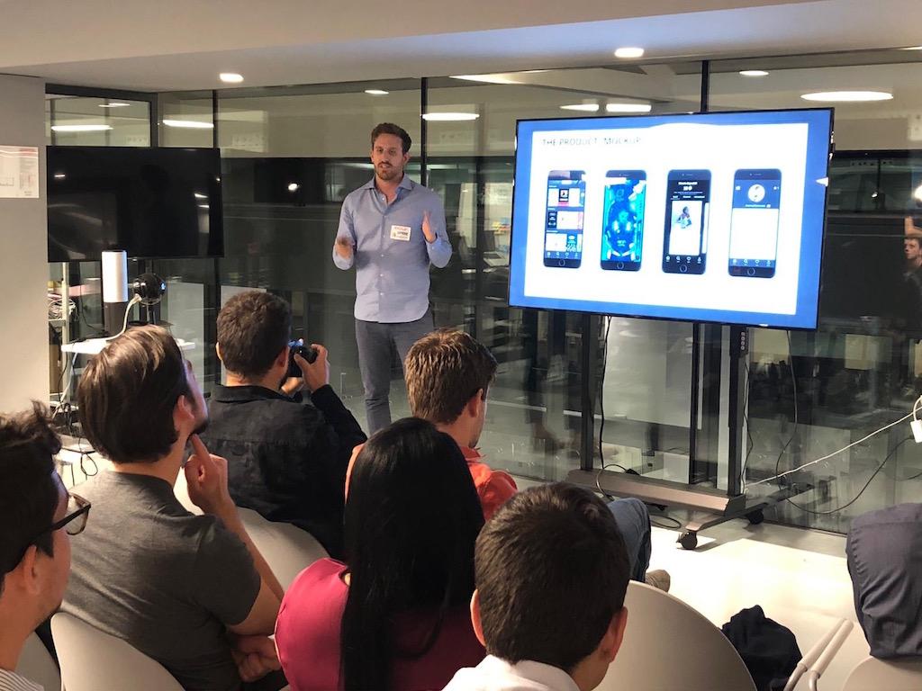 Nicolo Santin, Startup Ofree, Startup Crash Test Milan #16