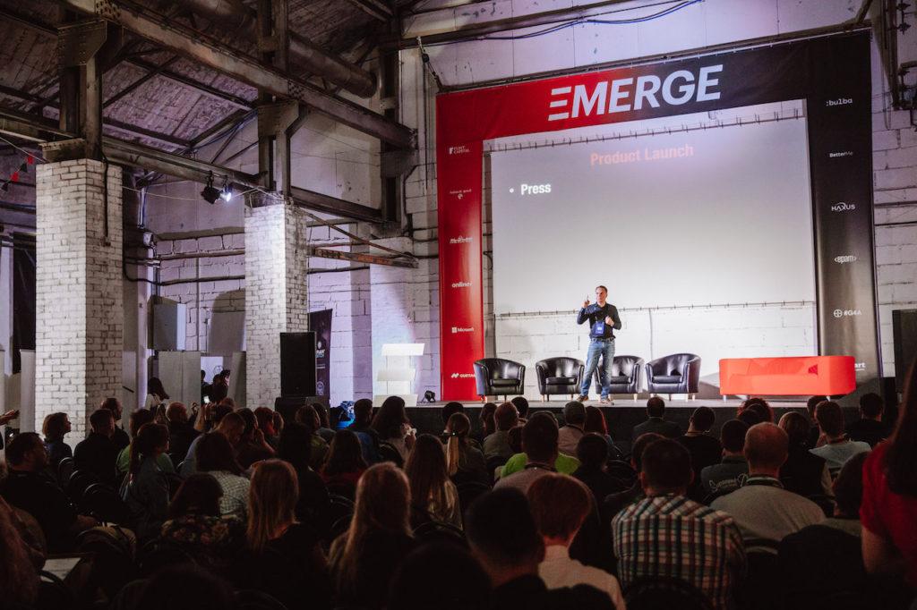 EMERGE tech conference in MInsk