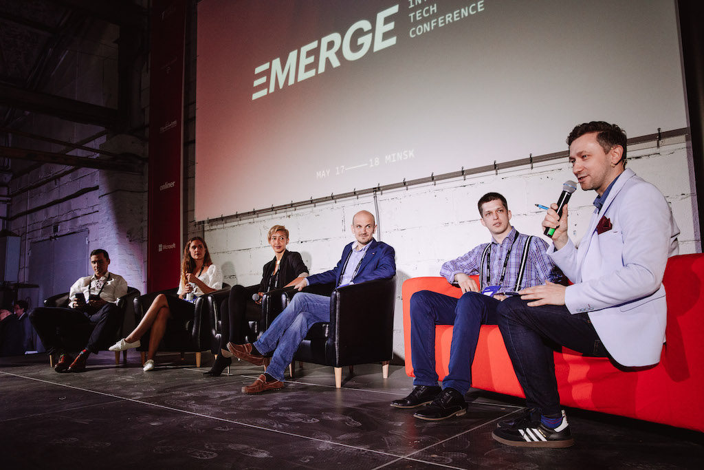 Speakers at EMERGE conference