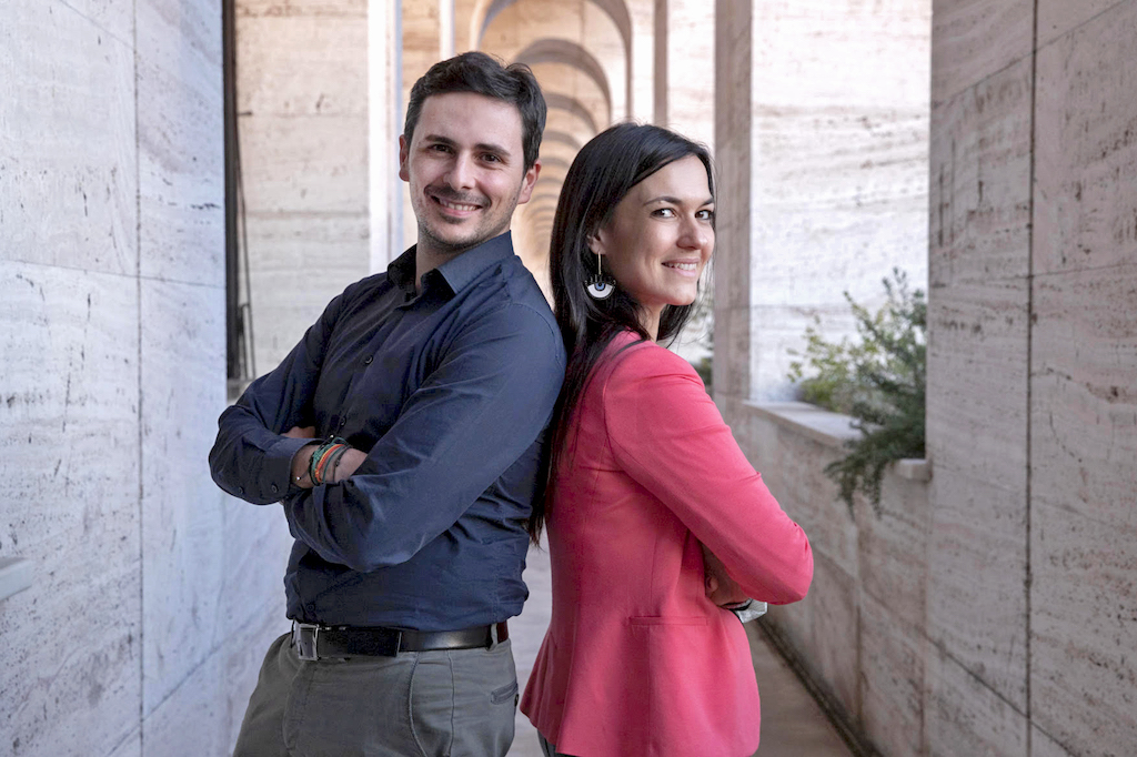 Founders Deesup Valentina-Cerolini and Daniele Ena