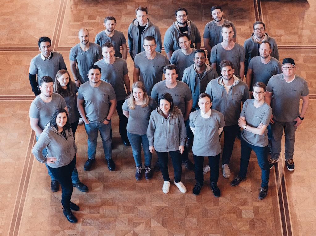 Logistics startup team Byrd