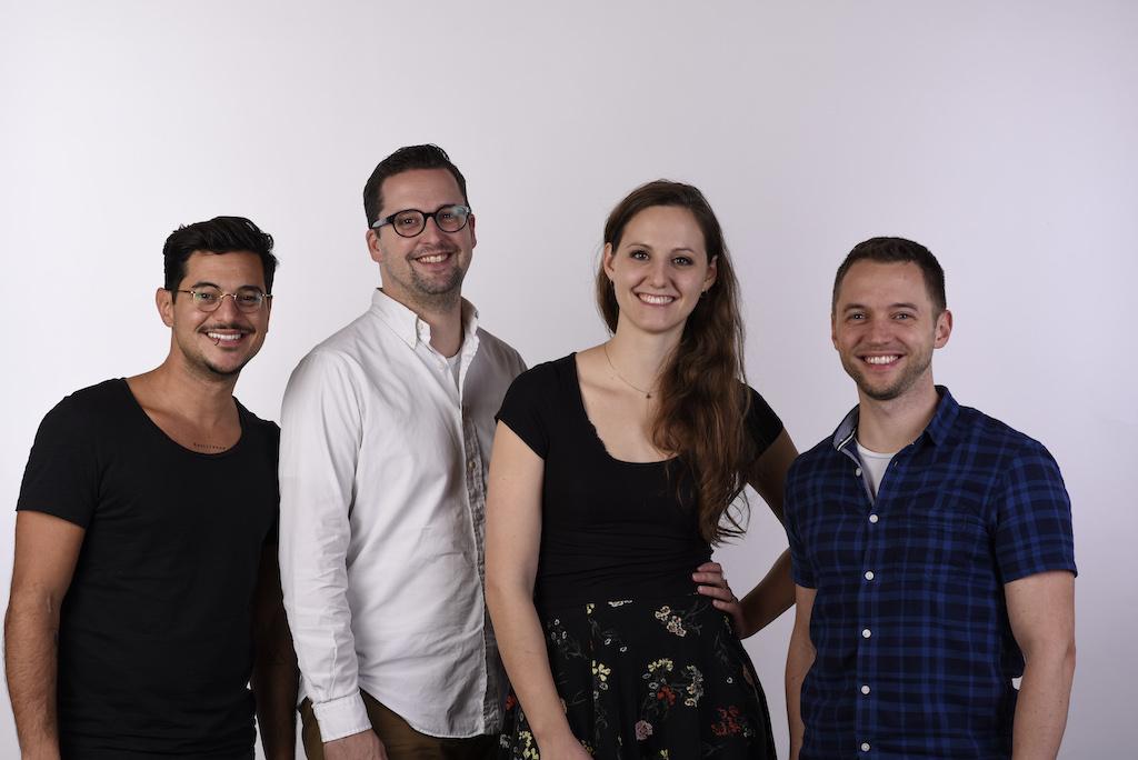 AirConsole Founding Team, Rafael Morgan, Andrin von Rechenberg, Alice Ruppert, Francois Weber
