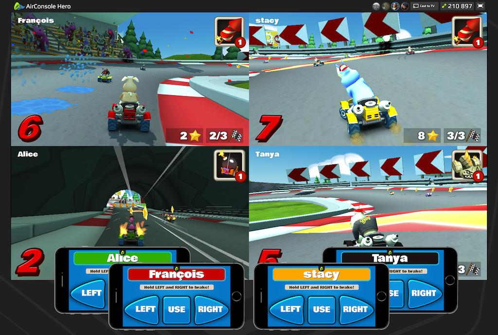 AirConsole Game GoKartGo