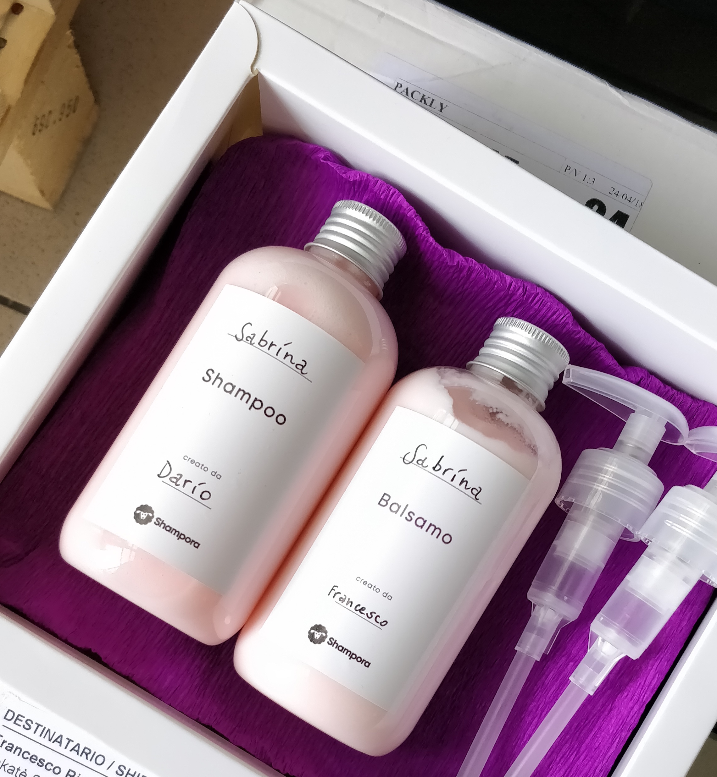 Shampora, startup which creates personalised shampoo