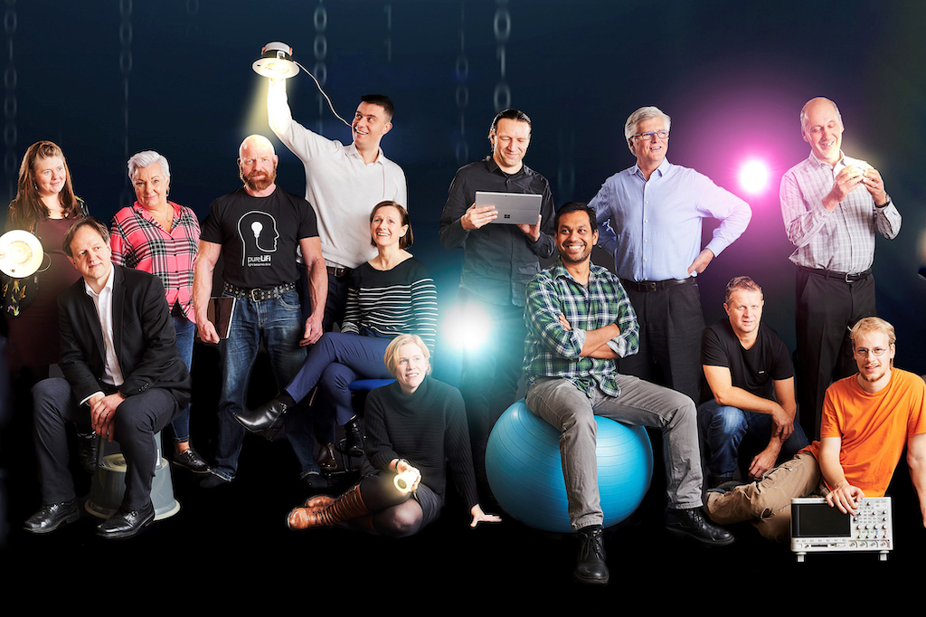 startup pureLiFi Team