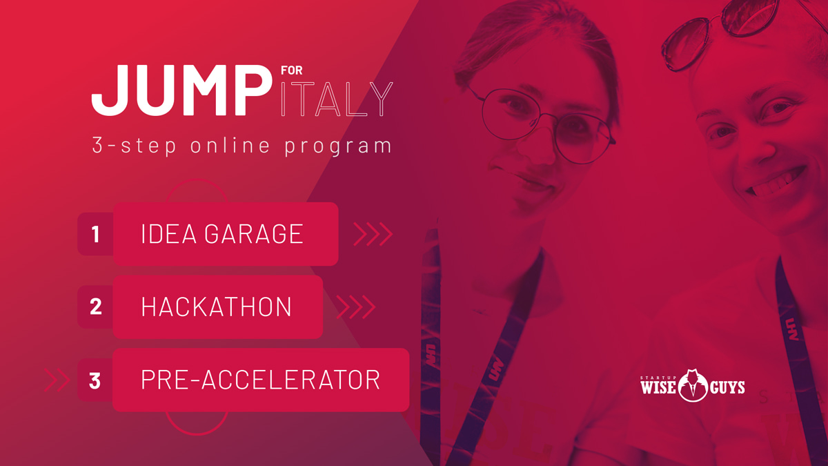 Startup Wise Guys Jump Italy