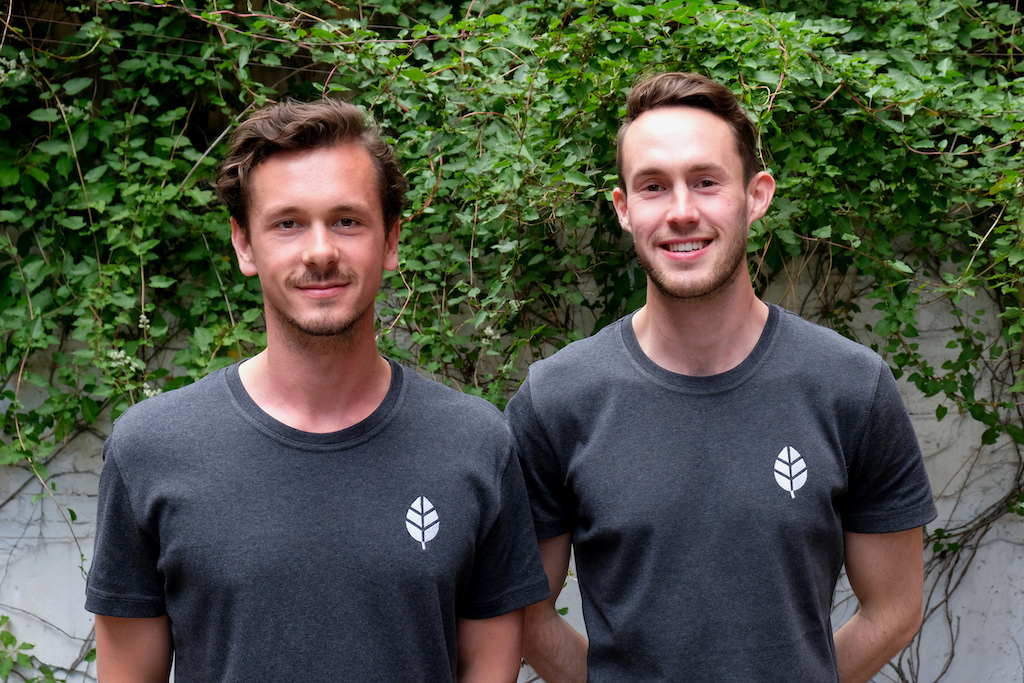 Plantclub founders Max Brenssell and Jack Lancaster