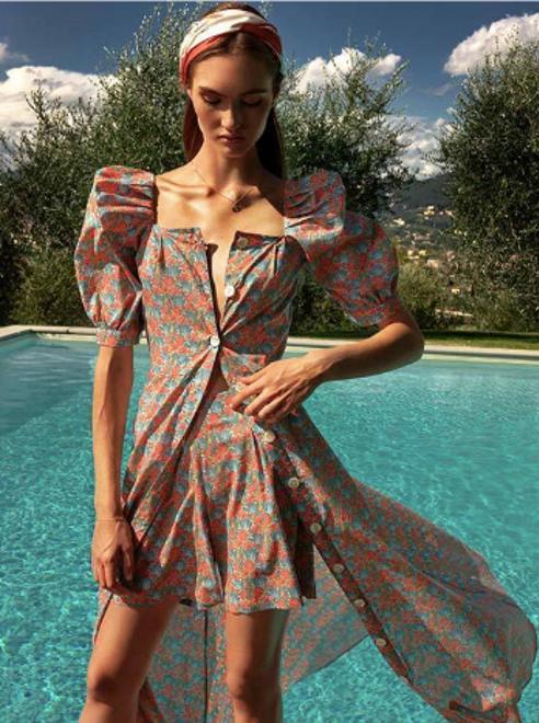 Viamadeinitaly dress made in italy