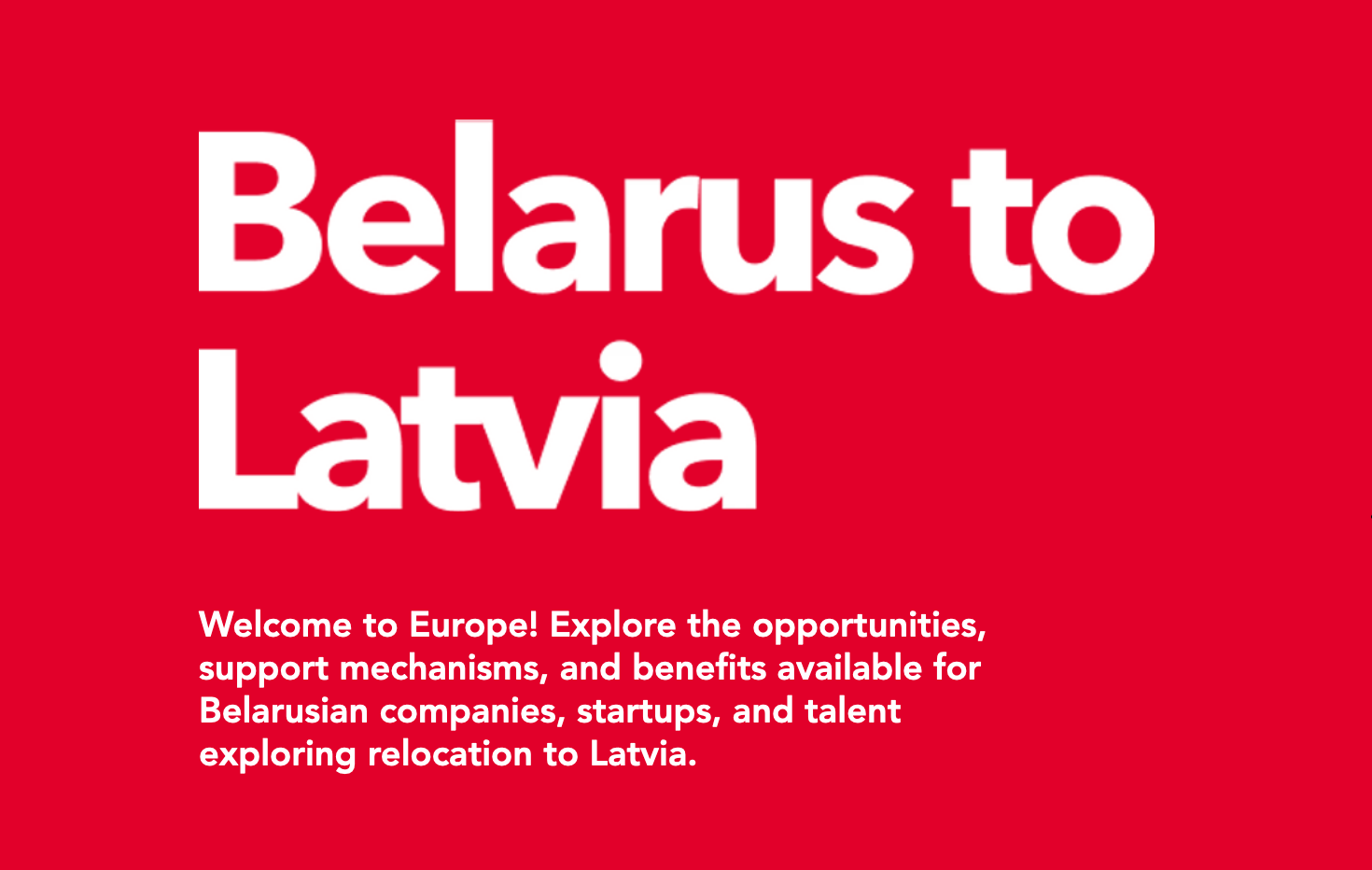Belarus to Latvia