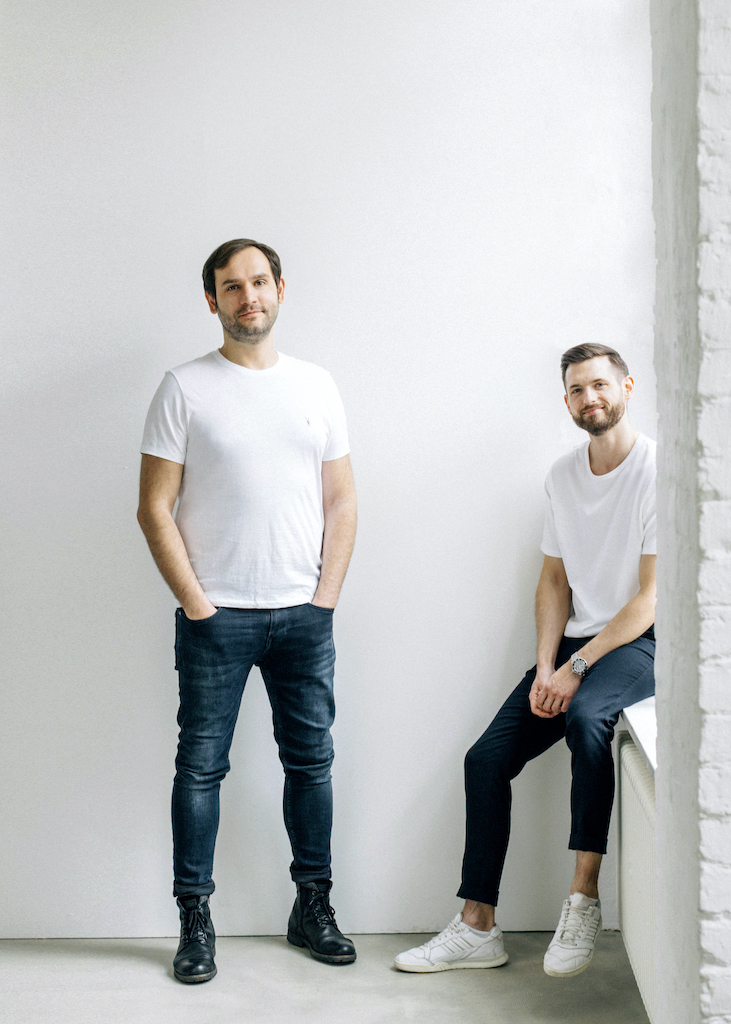 Startup Upper: co-founders Victor Cazacu (left) Paul Friedrich (right)