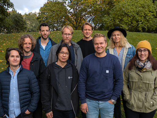 Finnish startup Rundit team