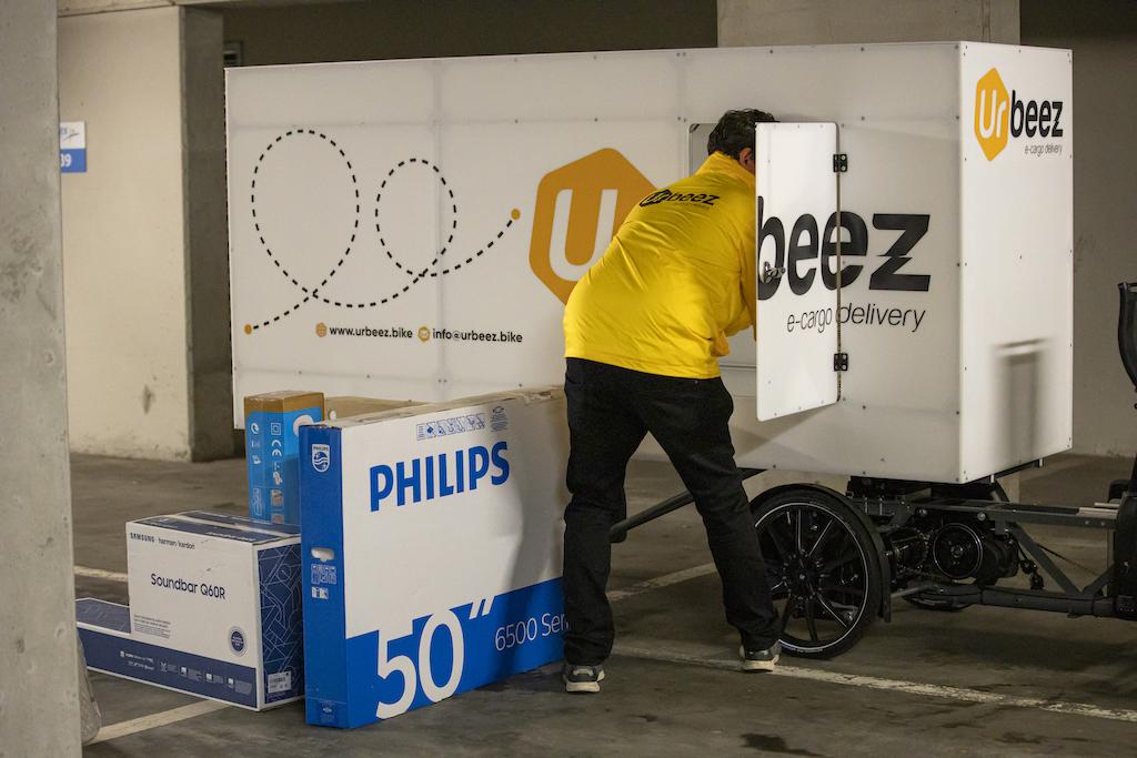 The Belgian startup Urbeez