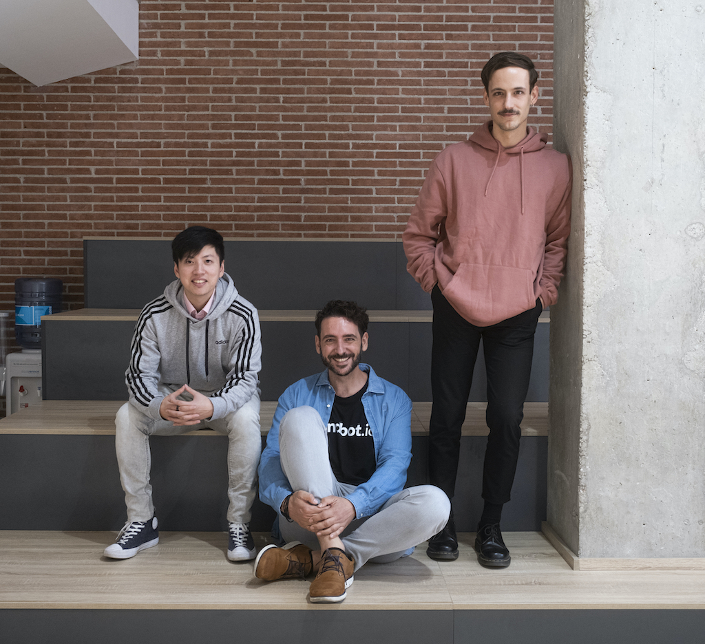 Cofounders Landbot, Jiaqi, Fernando, Cristobal