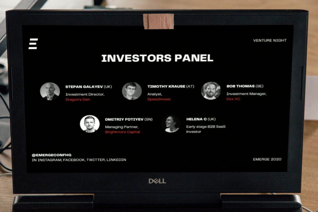 Emerge day1_venture_investors_panel