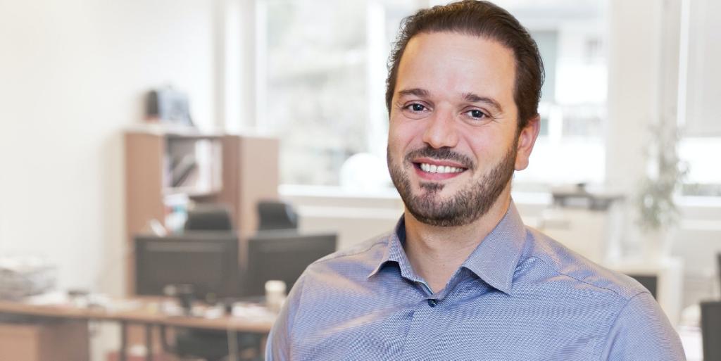 Dimitris Giannoccaro the CEO of IamIP