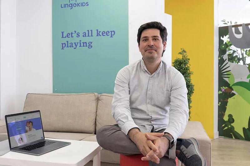 Cristóbal Viedma, CEO and founder of Lingokids.