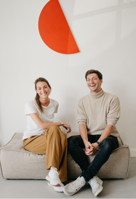 Moonbird co-founders: Stefanie and Michael Broes