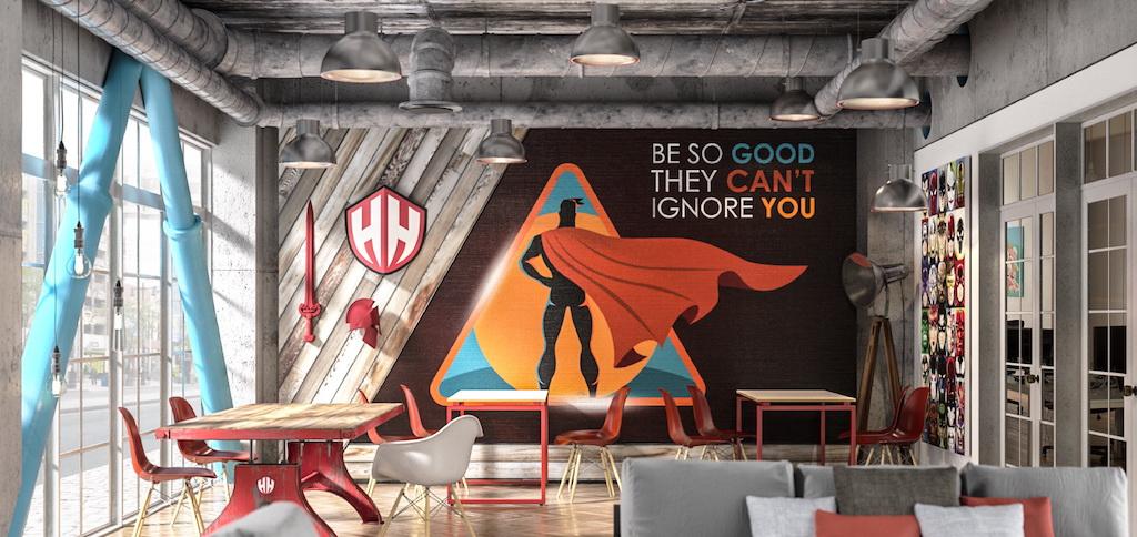 Hero House wallpaper