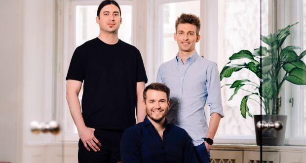 Refurbed founders Jürgen Riedl, Kilian Kaminsk and Peter Windischhofer