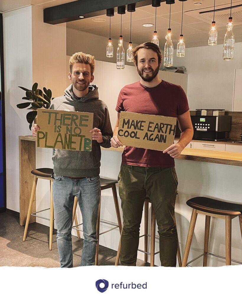 startup Refurbed