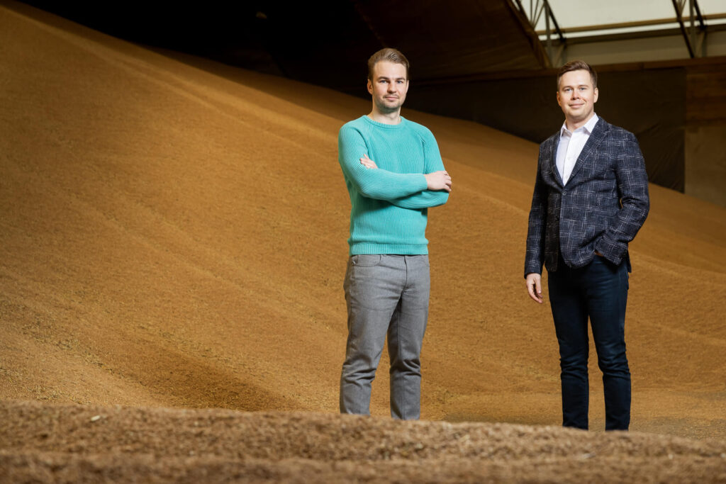 LendSecured founders Edgars Talums and Nikita Goncars